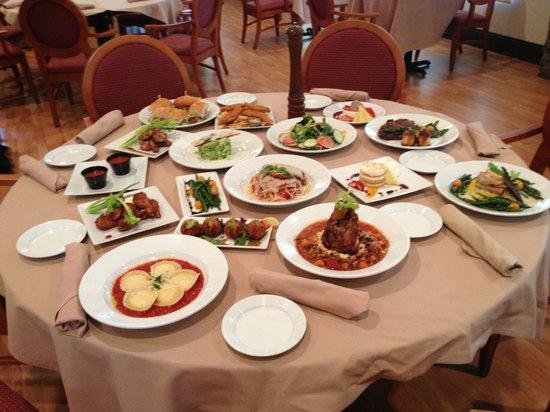 Esperante : Dinner Menu