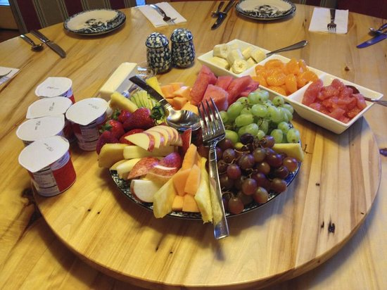 Sunburst Lodge Bed and Breakfast : The fab breakfast