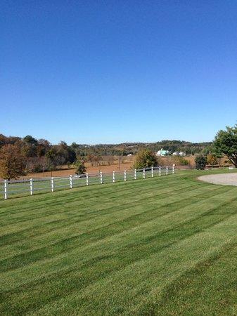 Amish Door Restaurant: Another View from Restaurant