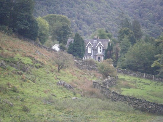 The Borrowdale Hotel: view from bedroom 52