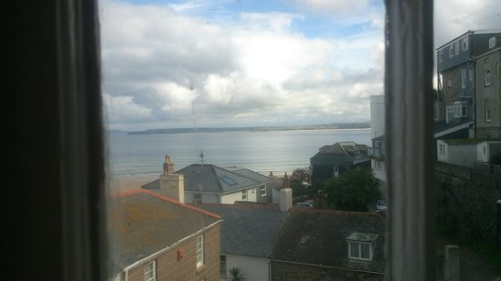 Seaforth B&B: view from room