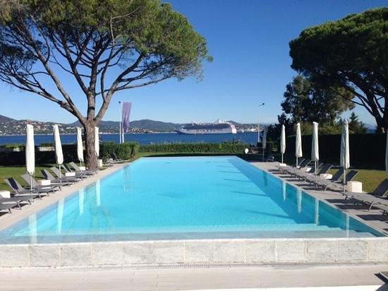 Kube Hotel-St Tropez : vue du restaurant