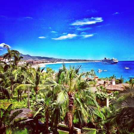 Hacienda Beach Club & Residences : Medano Beach from the balcony