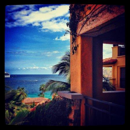 Hacienda Beach Club & Residences : View from balcony.