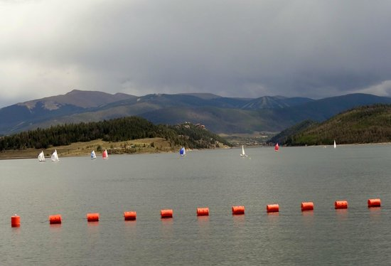 Dillon Reservoir: Dillon Lake, CO, USA