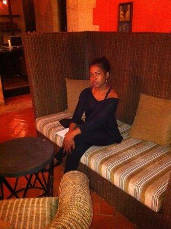 Hodelpa Nicolas de Ovando: lounge area