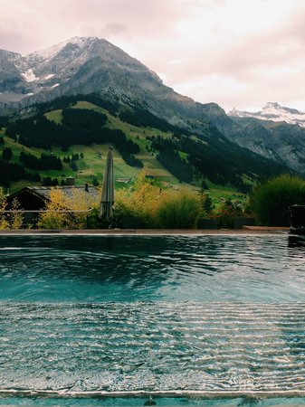 The Cambrian: Outdoor infinity pool