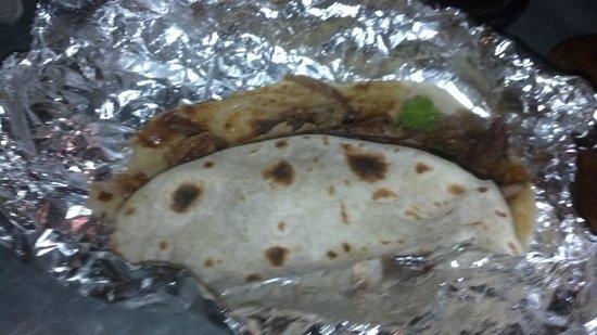 Smoke BBQ Taqueria : Brisket taco