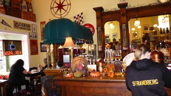 Troutdale, Oregón: Old soda fountain is delightful