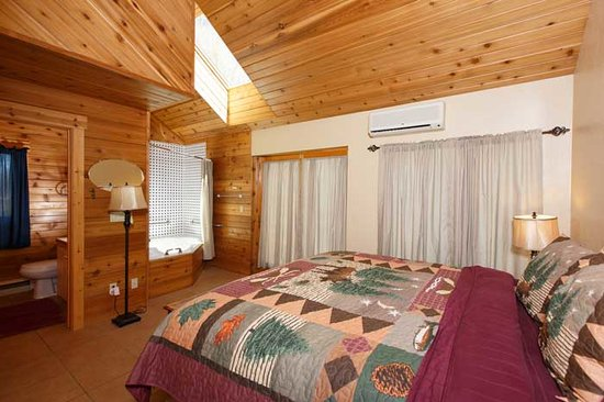 Door County Cottages: One of the Master Bedrooms