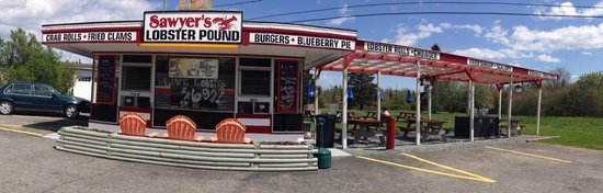 Charlotte's Legendary Lobster Pound : Sawyer's Lobster Pound