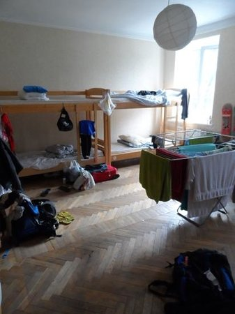 Kiev Central Station Hostel: 12 Bed Dorm