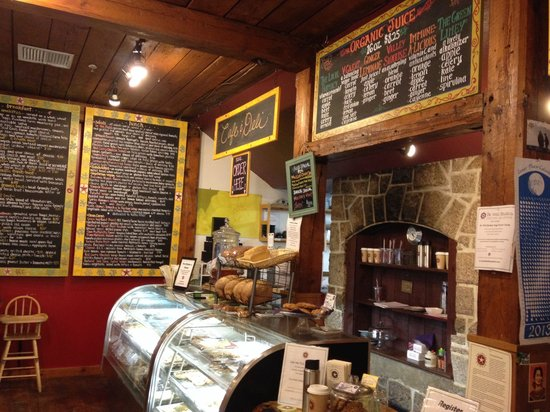 the local grocer : Nice little cafe & deli