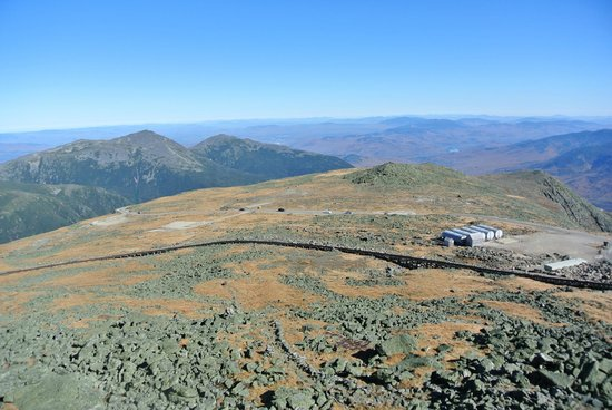 Mount Washington Auto Road: One of the views from the top