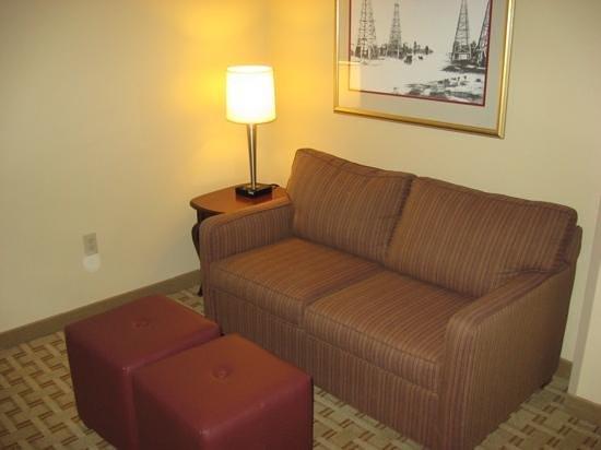 Hampton Inn Houston - Near The Galleria : Sitting area