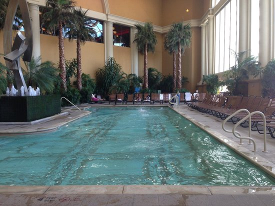 In the lobby picture of borgata hotel casino spa for Pool and spa show atlantic city 2016