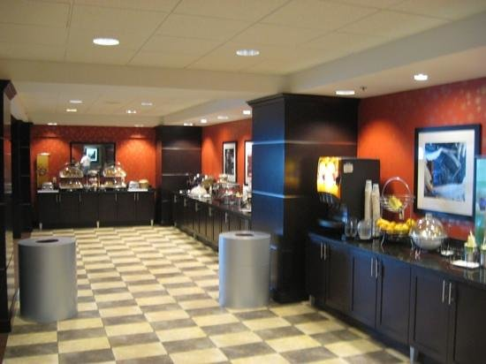Hampton Inn Houston - Near The Galleria: breakfast area