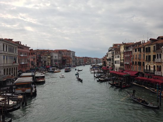 Hotel Abbazia: Grand canal September 2013