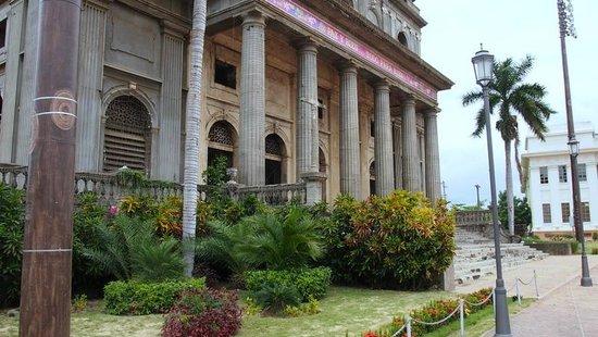 Antigua Catedral de Managua : Front