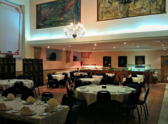 Hospederia El Convento: The hotel dining area