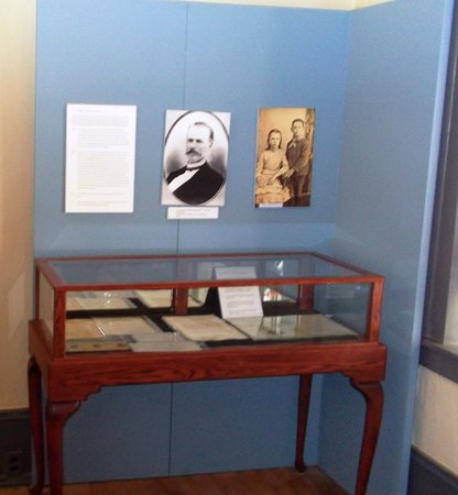 McFarland State Historic Park : Display in the museum explains how Florence got its name