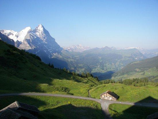 View from Grosse Scheidegg, toward Jungfrau