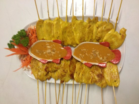 Siam Kitchen: Chicken satay