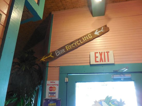 3 Bananas: Directions to the Rest Rooms
