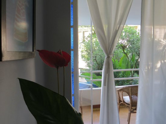 Jardin Azul: Room on the garden.