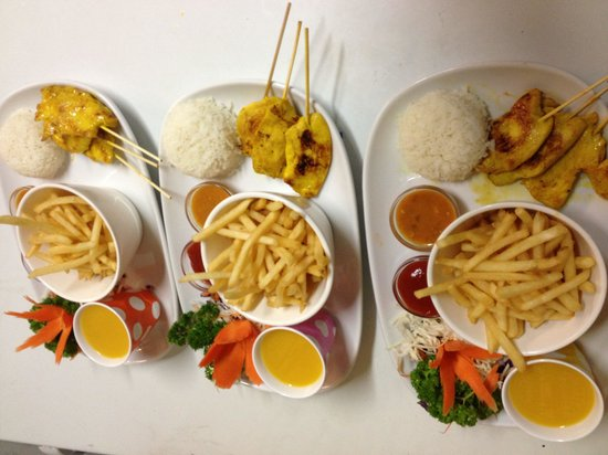 Siam Kitchen: Kids menu
