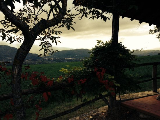 Borgo Corsignano: Scorcio panoramico.