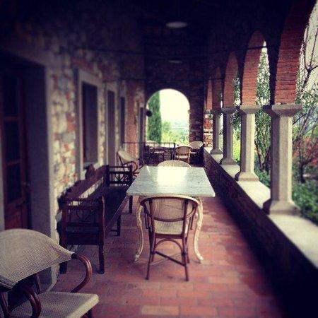 Borgo Corsignano: Esterno di una casa.