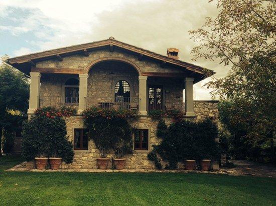Borgo Corsignano: Casa.