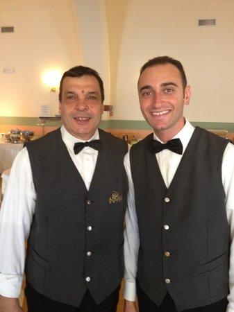 Grand Hotel Miramare: Mario and Gaetano: the best part of Miramare