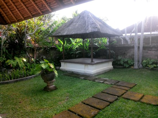 Bumi Ubud Resort: Our own private garden