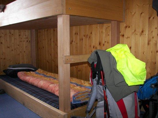 Bärghuis Jochpass: Touristenlager room at Jochpass