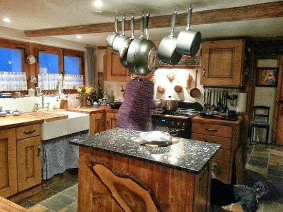 The Hayloft: Beautiful kitchen