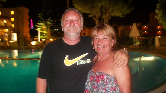 The Drunken Duck : me and the missus