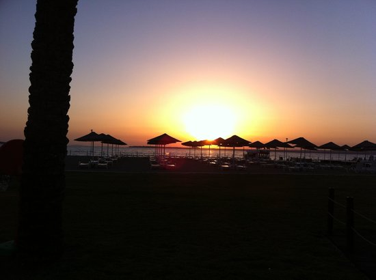 Apollonium Spa & Beach: Sunset