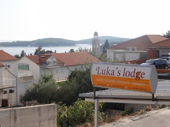 Luka's Lodge: View from Lodge.