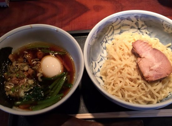 KAZU MARU: 味玉つけ麺