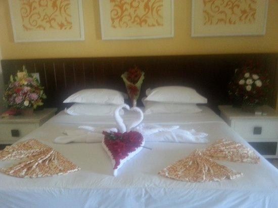 Bali Garden Beach Resort: my husband organized this for our anniversary