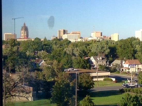 Capitol Plaza Hotel Topeka: View from hotel room.