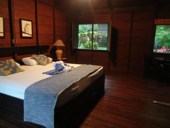Chachagua Rainforest Eco Lodge : The room before it's messed up