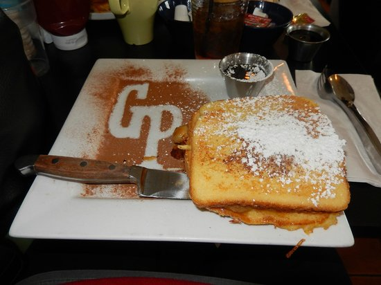 George's Place: bananas french toast