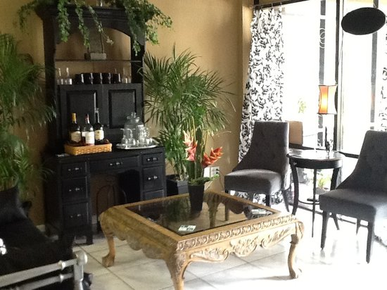 Amazing You Day Spa Reception Area