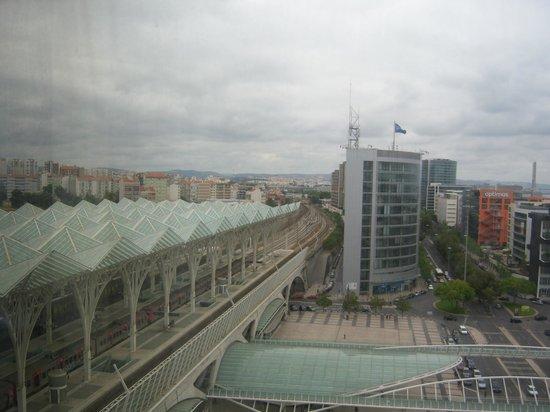 Tivoli Oriente Hotel: Lisboa, 8ºC , Verão de 2013