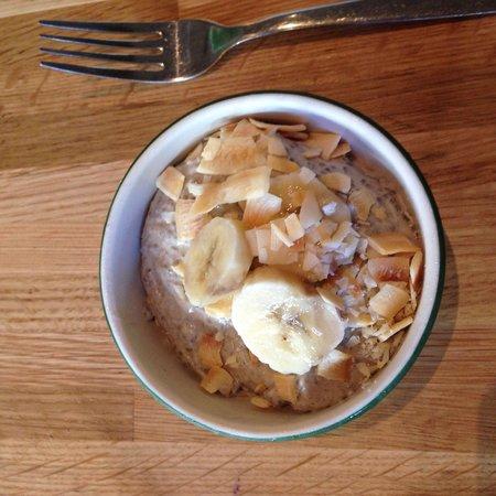 True Food Kitchen: Chia seed pudding dessert
