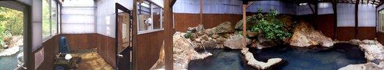 Takinoyu: Indoor bath on men's side