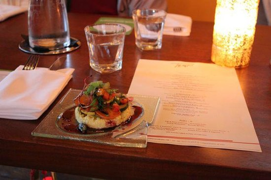 Charlottesville Food Tour: Tempo - Vegetarian Option